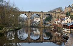 Knaresborough. #12/365 (Dave Snowdon (Wipeout Dave)) Tags: winter reflections river town viaduct knaresborough waterside northyorkshire rivernidd knaresboroughviaduct wipeoutdave canoneos1100d davidsnowdonphotography djs2014