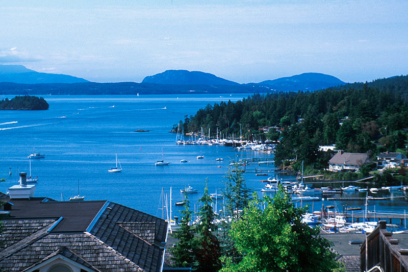 Brentwood Bay: Click to enlarge