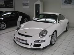 Porsche 911 (997) GT3 (nakhon100) Tags: white cars 911 porsche coupe carrera gt3 997