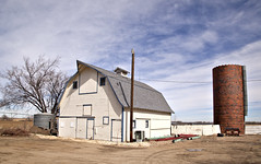 Barn IV (eDDie_TK) Tags: rural colorado farming co farms silos rurallife