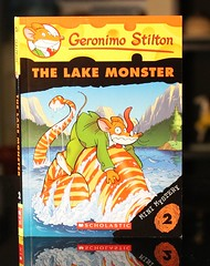 """The Lake Monster (Vernon Barford School Library) Tags: new school fiction lake animal animals monster mystery mouse reading book high library libraries lakes reads books mini read paperback adventure mice cover junior novel covers monsters bookcover adventures pick middle claudio vernon quick recent picks journalist bookcovers paperbacks journalists mysteries stilton valentina novels fictional adventurer geronimo adventurers barford softcover cernuschi quickpicks quickpick grassini vernonbarford """"quick softcovers picks"""" 9780545103701 iltopofalsario"""