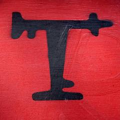 letter T (Leo Reynolds) Tags: canon t eos 7d letter f56 oneletter iso320 ttt 0004sec 130mm hpexif grouponeletter xsquarex xleol30x xxx2014xxx