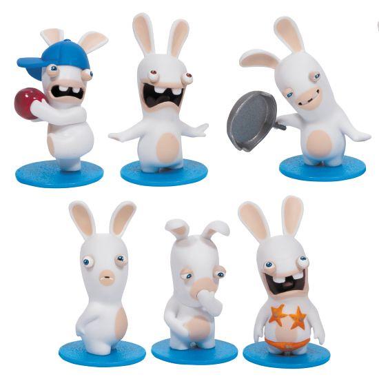 爆笑狂潮止不住!《瘋狂兔子》迷你公仔入侵你的桌子啦~