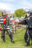 [2014-04-19@15.03.49a] (Untempered Photography) Tags: history costume fight helmet battle medieval weapon knight shield combat armour reenactment skirmish combatant chainmail spear canonef50mmf14 perioddress polearm platearmour poleweapon mailarmour untemperedeye canoneos5dmkiii untemperedeyephotography glastonburymedievalfayre2014