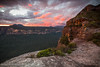 Butterbox Point I (Gary Hayes) Tags: sunset australia bluemountains mounthay butterboxpoint