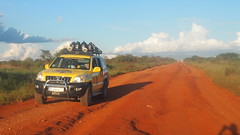RED ROAD IN TSAVO PARK
