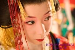 Tsutae Oiran (KIMONOnoMIRAI Tsutae) Tags: maiko geiko geisha kimono edo hanamachi yoshiwara oiran tayu uchikake