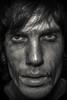 T i r e d (Chris Robinson Photography) Tags: winter light me face dark tired unhappy selfshot blackandwhitephotography 2015 tiredeyes modelface reflectivelight sigma35mmf14