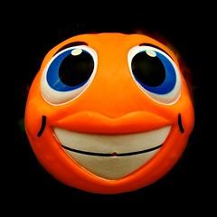 ...hi there... (muffett68 ) Tags: orange laughter vignette ansh cmwdorange scavenger16 slidersunday thisoneisforbobbi