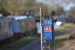 Route 41 (mitchell_dawn) Tags: bicycle canal warwickshire 41 grandunioncanal nationalcyclenetwork cycleroute flickrfriday