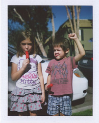 Fist for Popsicles (Patrick M Hickey) Tags: film vintage polaroid ishootfilm fujifilm polaroidlandcamera filmisnotdead polaroid104 fujifilmfp100c fujifilminstantgroup ishootpolaroid polaroid104landcamera