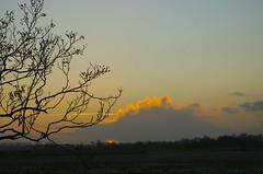 DSC_0761 (roelivtil) Tags: sunset clouds zonsondergang friesland fryslan veenwouden feanwalden btefjild gekkewolk