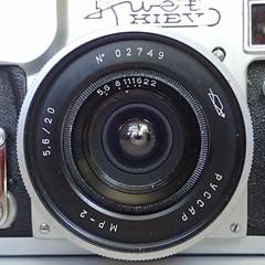 Russar MR-2 (PCCAP MP-2) 20mm  f/5.6 (heritagefutures) Tags: zorki camera ltm lens 1974 angle russia wide mount contax 20mm 1994 f56 fed kiev ultrawide rare mr2 ussr mp2 photographica kneb kmz russar ultrarare 39mm zavod  krasnogorski  mekhanicheskii  pccap