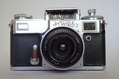 Russar MR-2 (PCCAP MP-2) 20mm  f/5.6   on Kiev 4 (heritagefutures) Tags: zorki camera ltm lens 1974 angle russia wide mount contax 20mm 1994 f56 fed kiev ultrawide rare mr2 ussr mp2 photographica kneb kmz russar ultrarare 39mm zavod  krasnogorski  mekhanicheskii  pccap