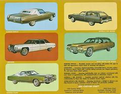 1971 Cadillac Pimpmobiles by ASC. page 4 (link6381) Tags: 1971 cadillac eldorado limousine asc fleetwood coupedeville pimpmobile