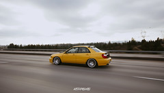 Yellowrx (@Grc.Photos (Garrett Church)) Tags: yellow subaru impreza wrx rarecolor