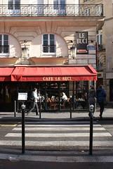 Caf Le Buci | PARIS 6e (Elisabeth de Ru) Tags: paris france caf geotagged 75006 parijs parigi parys   ruemazarine parisi   pariz  arr6  52ruedauphine caflebuci elisabethderu|2015 camerasony300 paris2325january2015 httpwwwlebucicomindexhtml elisabethderu