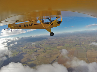 High over Oxfordshire...