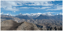 Nepal-Mustang (__Alex___) Tags: voyage travel nepal panorama mountains nature clouds trekking trek landscape nikon view mustang montagnes d80