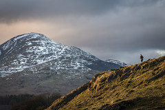 Men of Coniston (daveadam84) Tags: sunset mountains clouds canon landscape evening lakedistrict coniston 650d 1585