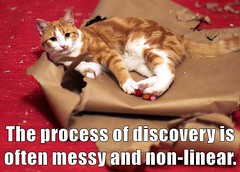 The process of discovery is often messy by laurakgibbs, on Flickr