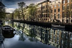 Amsterdam (Enricodot ) Tags: street holland water canon canal streetlife streetphotographer amesterdam enricodot