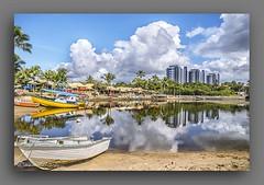 BURAQUINHO. (manxelalvarez) Tags: paisajes brasil bahia nubes cielos praias playas buraquinho