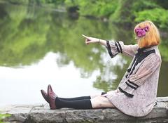 (sarajdsign) Tags: new york nyc ny newyork green girl grass japan forest point spring finger harajuku greenbelt