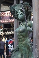 Mermaid (CptSpeedy) Tags: fountain statue orlando alley florida outdoor wizard magic harry potter spell universal studios creature diagon wizardingworld