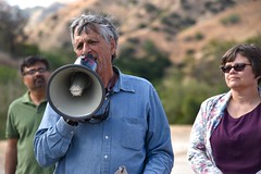 Porter Ranch Residents Mass Trespass onto Socal Gas Property (Break Free from Fossil Fuels) Tags: justice gas leak climatechange climatejustice fracking