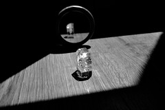 secret (Emma Plume) Tags: nikon lumire parquet ombre reflet illusion objet cristal mirroir forme verre obscur graphique brillant losange d3100
