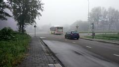 Het is mistig in Den Haag (Ezra070) Tags: muurbloemweg meerenbosch meerenbos htm htmbuzz bus bus24 mist mistig fog smartphone tevroeg 070 denhaag