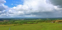 Looking towards Cornwall from Dartmoor (Eddie Crutchley) Tags: england nature landscape countryside europe cornwall outdoor devon dartmoor cloudysky greatphotographers simplysuperb