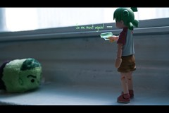 Hulk vs. Yotsuba pt.1! (Princess Qwin) Tags: toy toys story hulk yotsuba tsumtsum