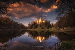 Trakoscan Castle and Lake (Croosterpix) Tags: travel landscape croatia trakoscan nikond610 croosterpix