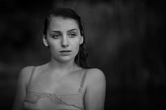 (fehlfarben_bine) Tags: portrait monochrome naturallight nikondf 850mmf14 woman