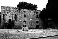 Rhodes (foveras13) Tags: old bw island greek town nikon greece rodos rhodes dodecanisa d5200