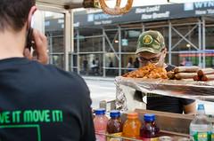 face kabob (zac evans photography) Tags: city nyc urban food newyork brooklyn island metro queens vendor hotdogs cart manhatten staten yaszacevansphoto