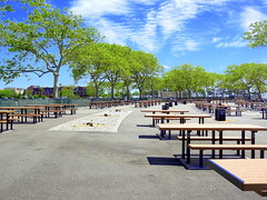 Picnic Area (dimaruss34) Tags: summer newyork brooklyn image manhattanbeach dmitriyfomenko
