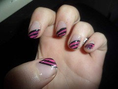 Strippes Meer pink #nailart #nails #pink #strippes (lilangel91) Tags: pink nails nailart strippes