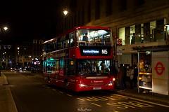 Stagecoach London 15112 (LX09 FZJ) Route N15 (LFaurePhotos) Tags: street bus london night trafalgarsquare vehicle charingcross stagecoach centrallondon 15112 lx09fzj routen15