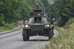 Armoured Car (Malcolm Bull) Tags: car military vehicle guards include scots dragoon armoured 20160604tank0004edited1web