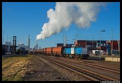 LTE 6409, Maasvlakte 25-03-2016 (Henk Zwoferink) Tags: haven rotterdam emo maasvlakte henk 6400 6409 lte zwoferink