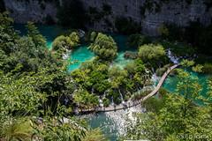 Vakantie Kroati & Sloveni 2015 (redijkstra) Tags: water meer natuur uitzicht hek kroati npplitvice vlonderpad