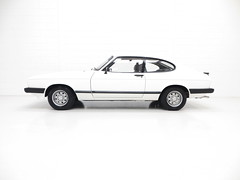 1984 Ford Capri 1.6LS (KGF Classic Cars) Tags: kgfclassiccars ford capri 16ls laser ghia injection special brooklands
