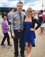 """Happy graduation day to my baby brother!! ...yes, I'm barefoot. He always makes me take my heels off for a """"height appropriate photo.""""  @algonquincollege #algonquincollege #algonquinalumni #graduation #convocation (Nicole Amanda Photography) Tags: wedding baby me square happy photography for blog day photographer im brother yes ottawa graduation off barefoot take heels always makes he algonquincollege convocation engaged weddingphotographer instagram algonquinalumni heightappropriatephoto"""