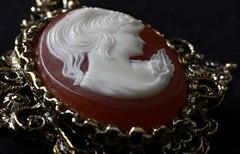 Cameo (ertolima) Tags: dusty vintage jewelry cameo