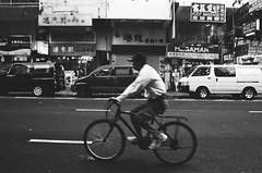 Man on bicycle (Eunsoo Lee) Tags: yaumatei