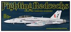 VFA-22 100  2016 (maveric043) Tags: vfa22 fighting redcocks f18 fa18 fa18f super hornet 166976