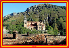 Baslica, Covadonga (vicbrasil) Tags: barcelona madrid people men children spain women bilbao zaragoza santiagodecompostela montserrat oviedo sansebastian pamplona santillanadelmar